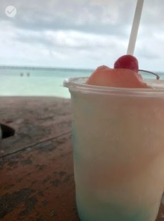 Starfish Island: Pina Coladas....Yummy!