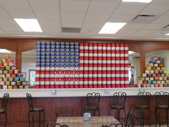 Blue Bell Creameries: Cartons of different flavors