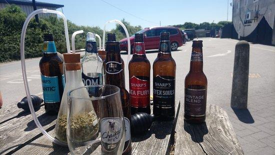 Sharp's Brewery: Beer tasting