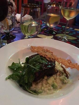 Don Sanchez Restaurant: short rib and risotto