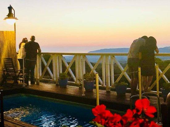 הילה, ישראל: Romantic evenings in front of the sunset and beautiful scenery