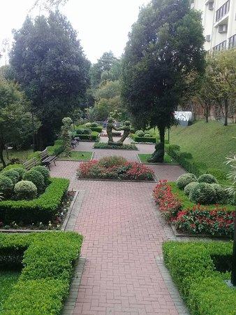 Hotel Wish Serrano: Jardim do hotel, lindo!