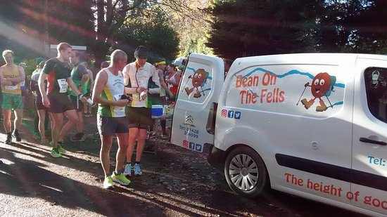 Bean On The Fells: Serving thirsty runners at the Derwent 10
