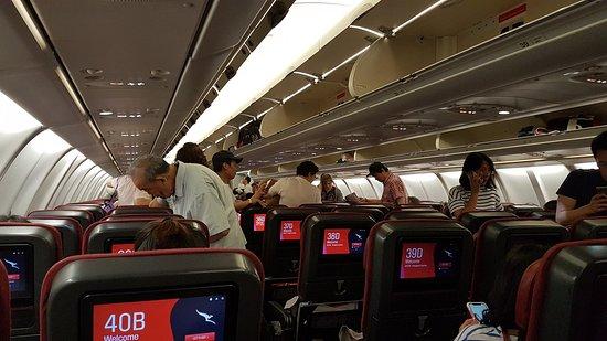 Qantas: Interior de Airbus 330