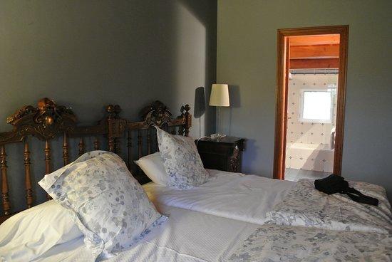 Casa Grande de Cornide: Doppelbett
