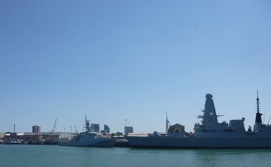 Portsmouth Historic Dockyard: More Naval vessels ..