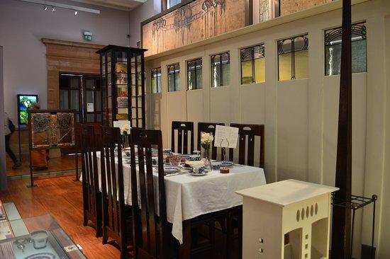 Charles Rennie Mackintosh Dining Room