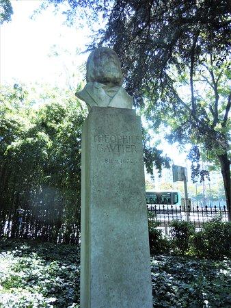 Sculpture Theophile Gautier