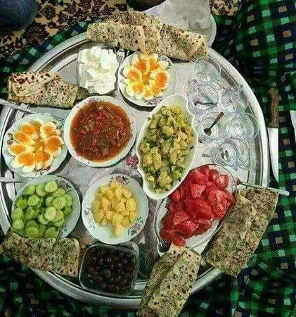 Aleppo Governorate, Syria: otro de los variados y muy ricos platos de la gastronomia kurda