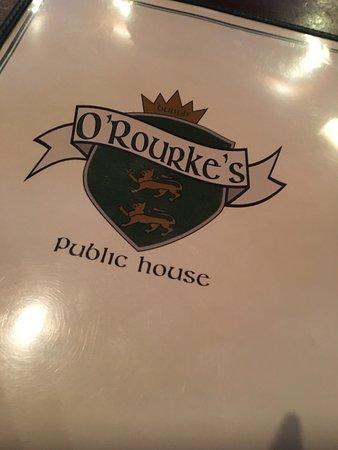 O'Rourke's Public House: Good eats