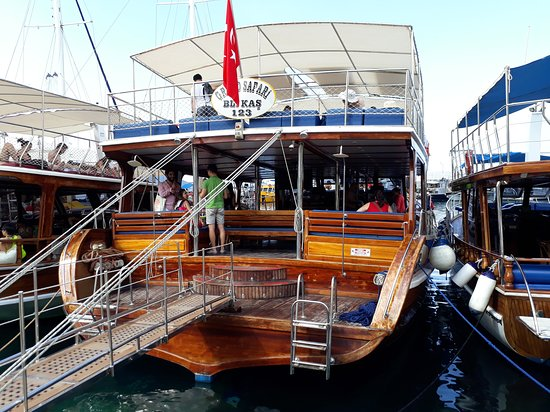 Boat Trips by Captain Ergun: Suat Şahin, (Kaptan Ergun ile Günlük Tekne Turları), 11.06.2018, Kaş, Antalya, Türkiye