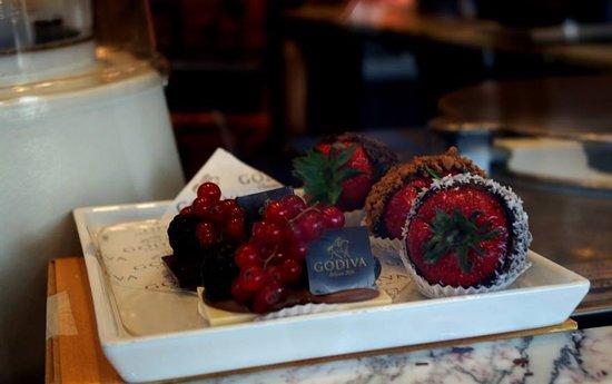 Godiva Cafe Chocolat: Sensacional