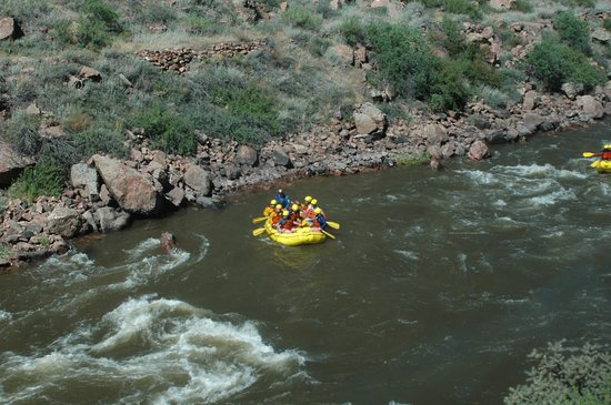 Royal Gorge Route Railroad: White Water views all along the trip.