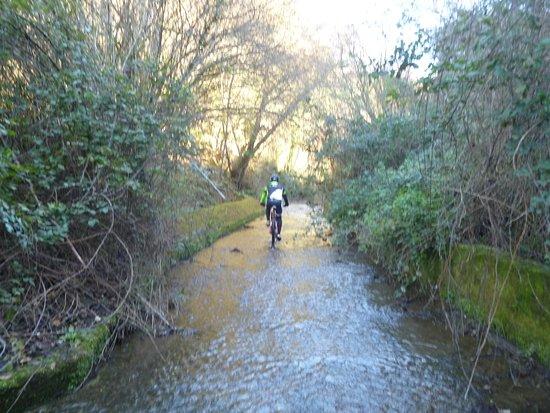Sterrando Bike: Sulla via per la Cascata del Moro