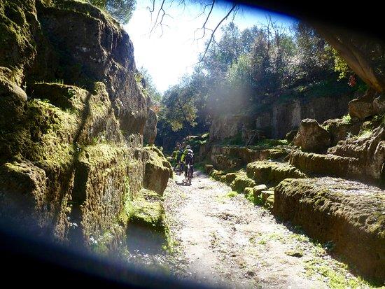 Sterrando Bike: La Via degli Inferi