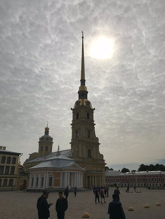 St. Petersburg Shore Excursion: Small-Group 2-Day Visa-Free Tour Including Boat Ride: Peter and Paul's cathedral