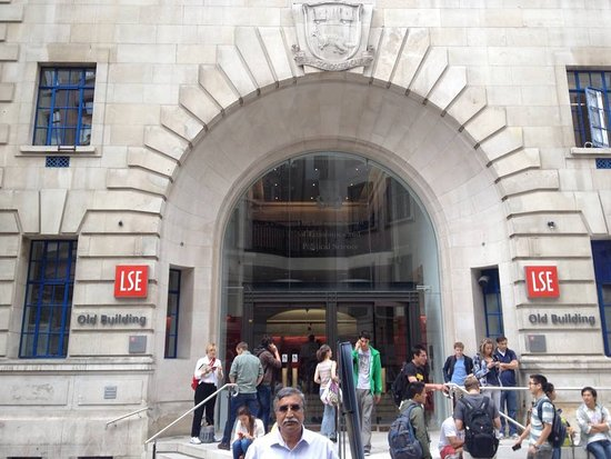 Entrance to London school of economics - Picture of London
