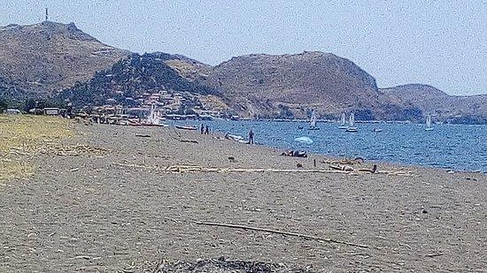 Skala Eressos Beach照片