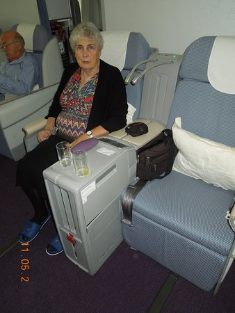 China Southern Airlines: business class seat