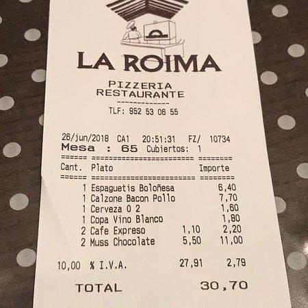 La Roima Pizzeria: photo2.jpg