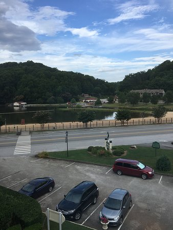 The 1927 Lake Lure Inn and Spa: view from our room