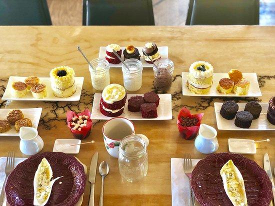 Iron Tree Restaurant,Bakery & Brewery: Dessert Tasting