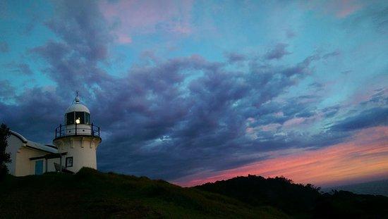 Tacking Point Lighthouse: Morning Sunrise, one of the magic moments captured x