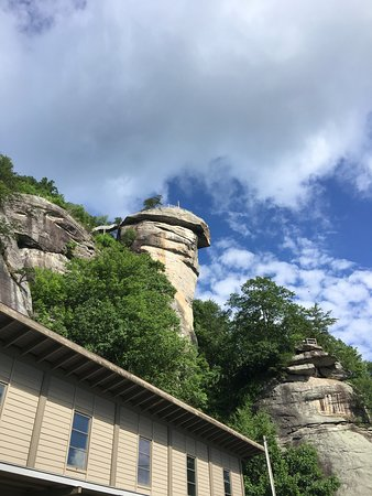 Chimney Rock State Park: looking up