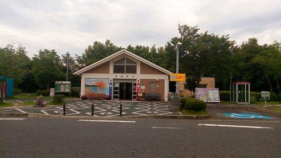 Daisen Parking Area Outbound Line