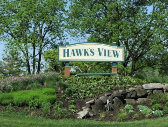 Hawks View Golf Club: Sign at Road