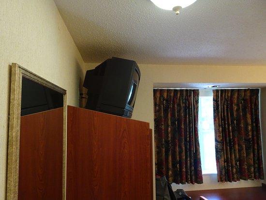 Microtel Inn & Suites by Wyndham Atlanta/Perimeter Center: alt und unmodern.