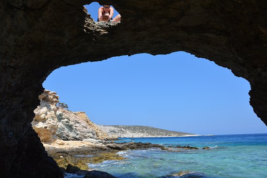 Trypiti Beach, Donoussa, Griekenland