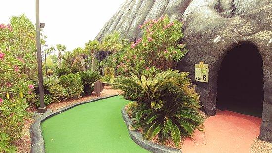 Molten Mountain Indoor Miniature Golf