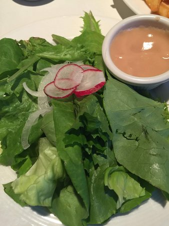 Blue Bicycle: salad