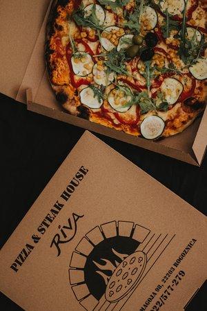Pizza & Steak house RIVA Rogoznica: Pizza vegetarian
