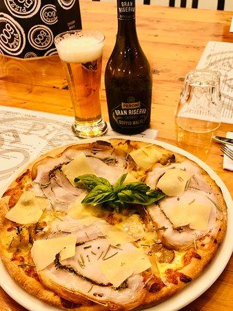 Pizza Special THREE P's  - Porcini Potatoes Porchetta