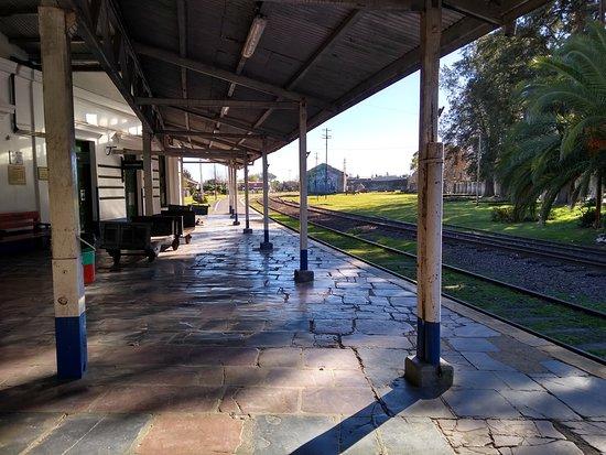 Estacion de Ferrocarril: Andén