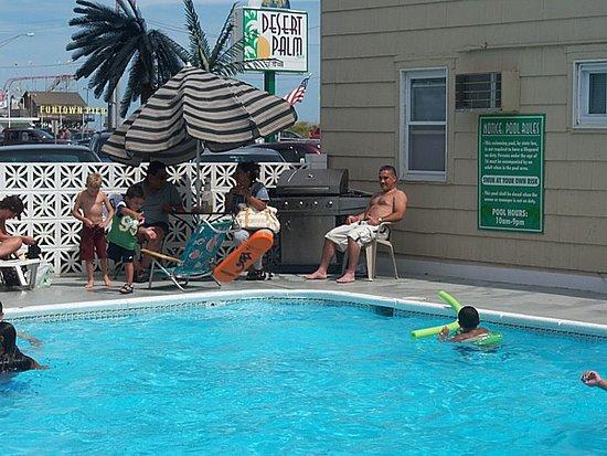 Desert Palm Inn: Heated pool