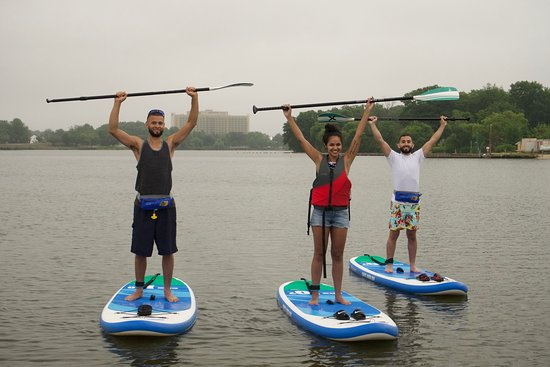 Crosswater SUP: No sun? No problem! You'll still have a blast.