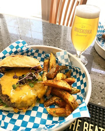 Cottage Bistro: Thirsty Thursday - $5 pint of beer with the purchase of a burger (Beef or Lamb)