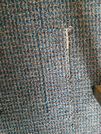 Beach Cove Resort: Carpet torn up