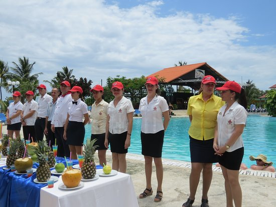 Brisas Guardalavaca Hotel: Meet the people in charge on the Manager's Cocktail wednesday