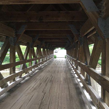 Covered bridge at Riverwalk