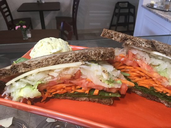 The Picnic Basket: How about a Veggie Reuben- Special of the day!