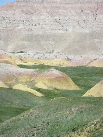 Badlands National Park: Yellow Mounds