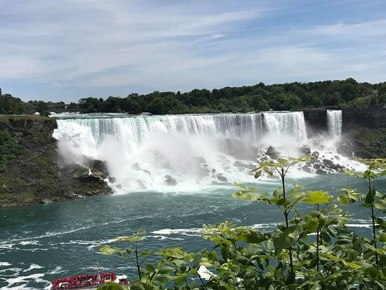 Ниагарский водопад: Getting up close to the falls