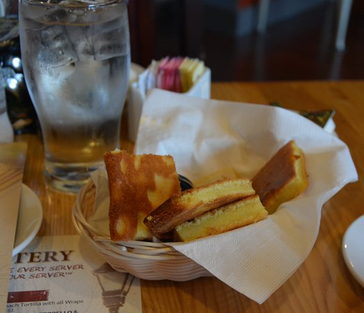 Famous Toastery: Signature Corn Bread with Apple Butter