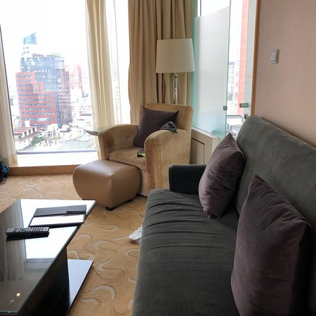 Le Royal Meridien Shanghai: Inside and the views from hotel