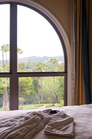 The Langham Huntington, Pasadena, Los Angeles: Horseshoe Garden view from room