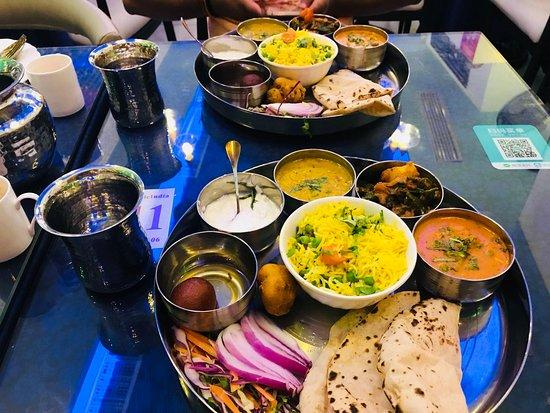 Indian Spice Restaurant: Veg Thali @Indian Spice